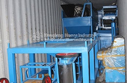 Fertilizer production machinery shipped to Jordan